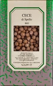 Organic cece Cuore Verde 500 gr.