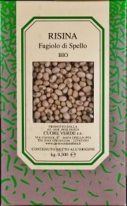Organic Risina Cuore Verde 500 gr.