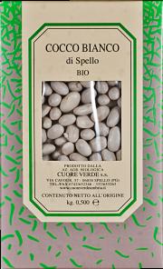 Organic cocco bianco Cuore Verde 500 gr.
