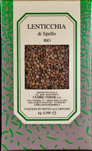 Organic lenticchia Cuore Verde 500 gr.