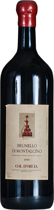 Brunello di Montalcino Poggio al Vento Tenuta Col D'Orcia 1991 3 lt.