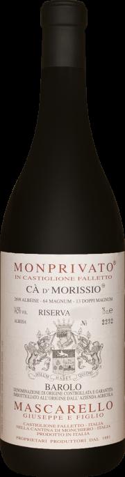 Monprivato Ca' d' Morissio Mascarello e Figlio Riserva 2010 0.75 lt.