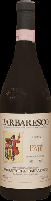 Barbaresco Riserva Paje Produttori del Barbaresco 2014 0.75 lt.