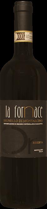 Brunello di Montalcino La Fornace Riserva 2012 0.75 lt.