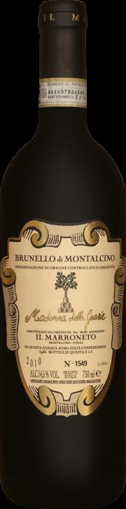 Brunello di Montalcino Il Marroneto Madonna delle Grazie 2010 0.75 lt.