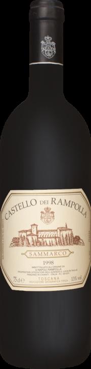 Castello dei Rampolla Sammarco 1998 0.75 lt.