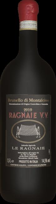 Brunello di Montalcino Le Ragnaie Vigna vecchia 2010 0.75 lt.